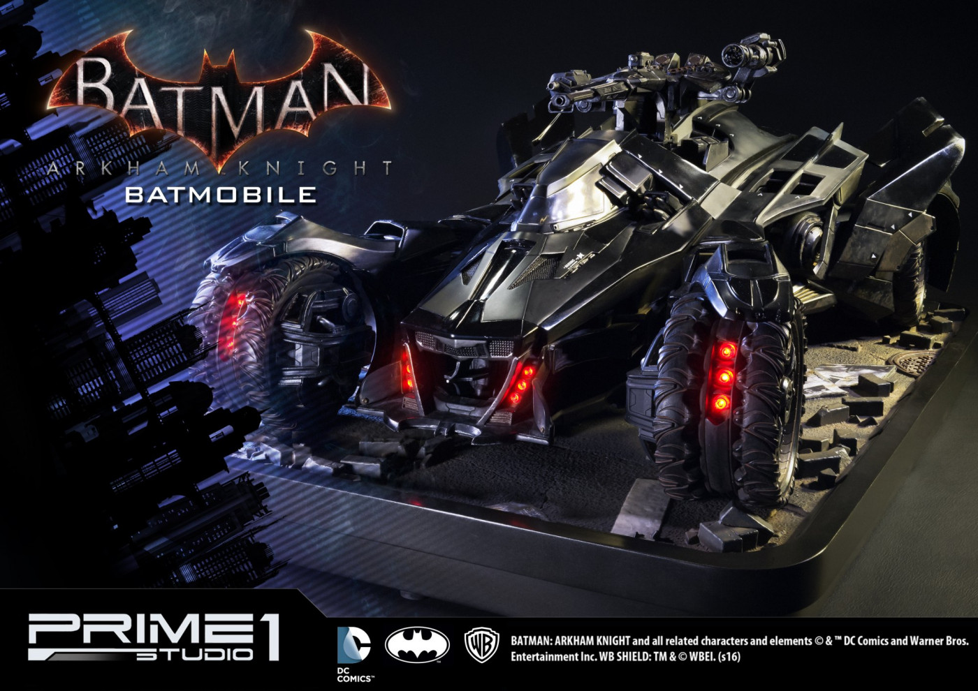 Museum Masterline Batman: Arkham Knight Batmobile