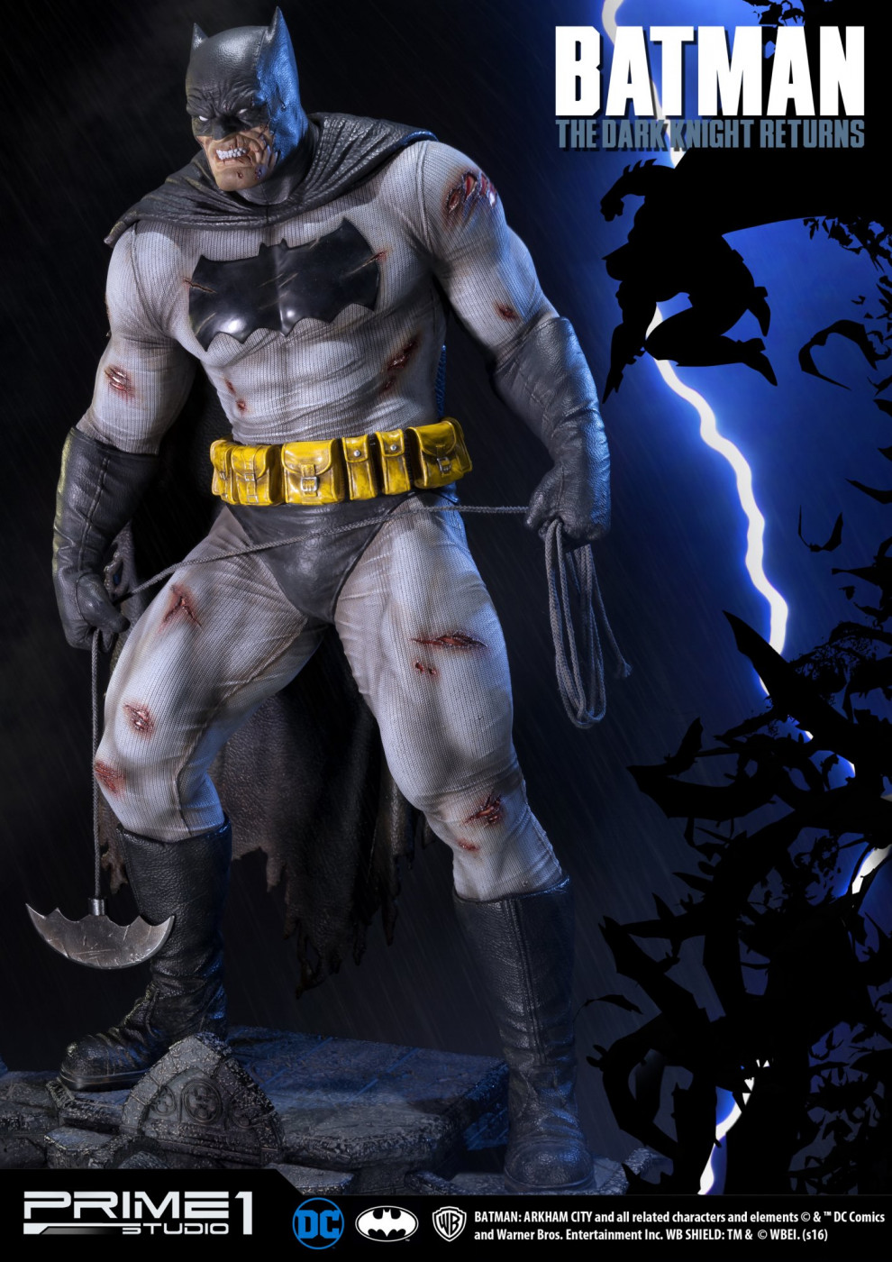 Museum Masterline Batman: Arkham City (The Dark Knight Returns) Batman EX Version