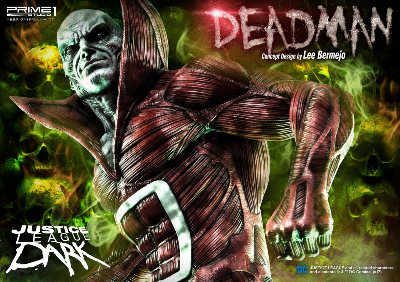 Museum Masterline Justice League Dark Dead Man (Concept Design by Lee Bermejo) EX Bonus Version