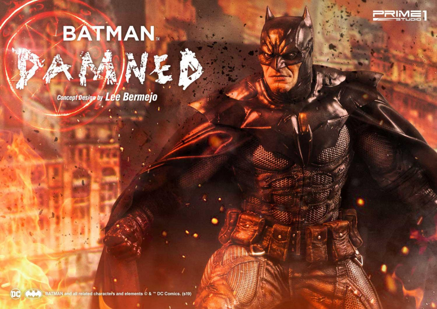 Museum Masterline Batman (Comics) Batman Damned (Concept Design by Lee Bermejo)
