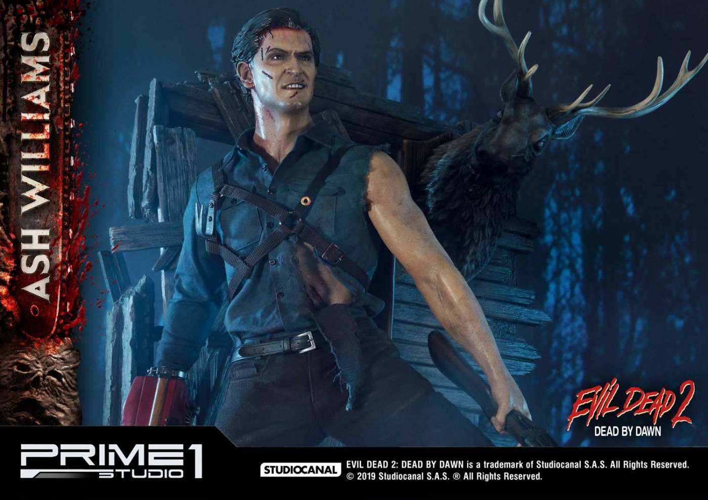Museum Masterline Evil Dead 2: Dead By Dawn (Film) Ash Williams