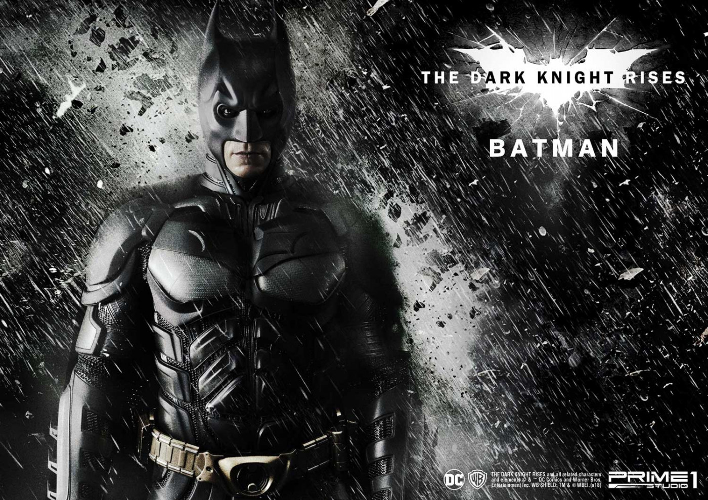 Museum Masterline The Dark Knight Rises (Film) Batman