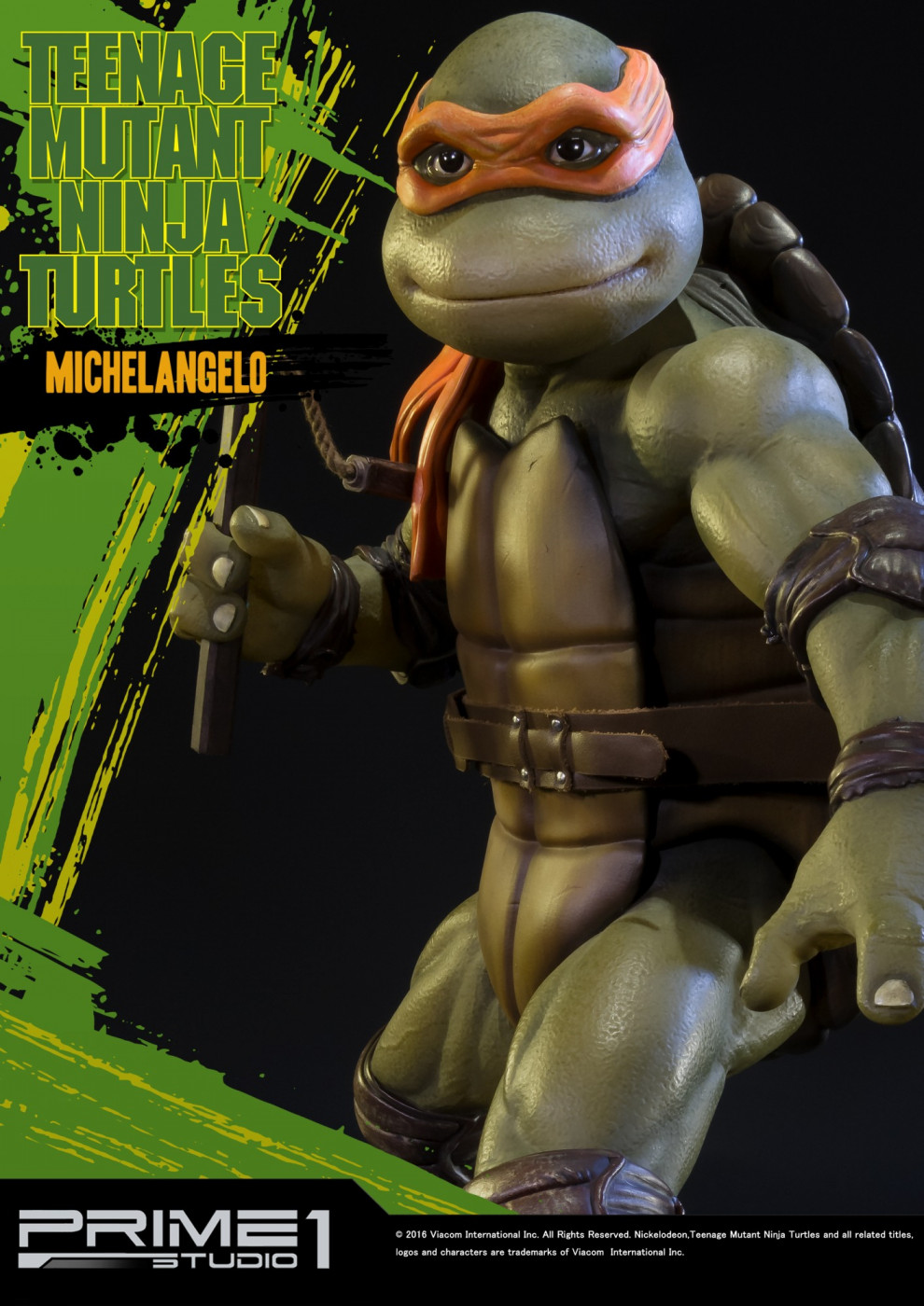 Museum Masterline Teenage Mutant Ninja Turtles 1990 Michelangelo