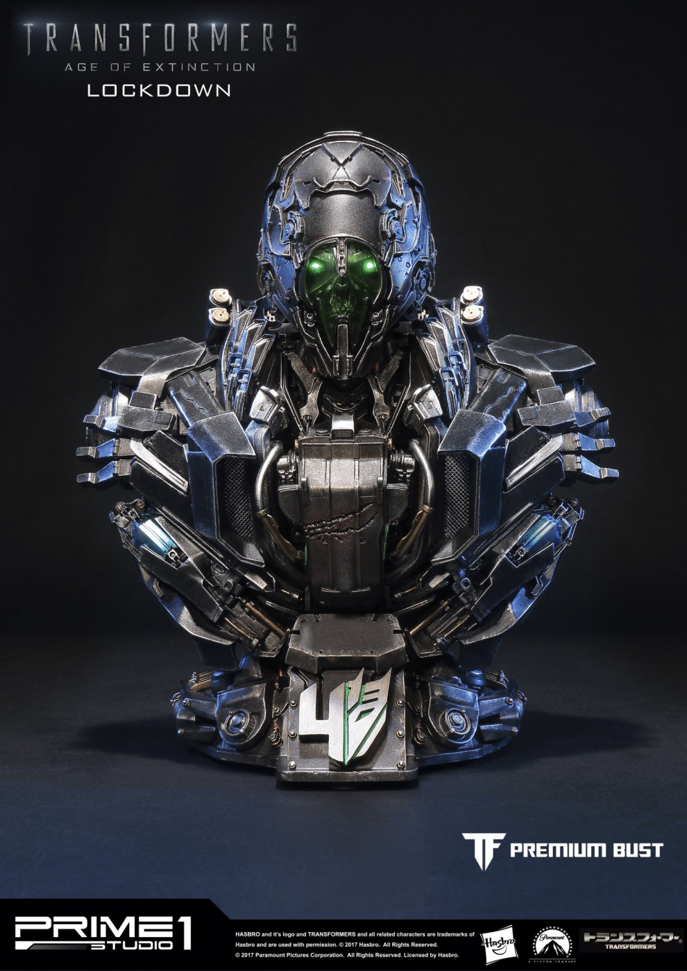 Premium Bust Transformers: Age of Extinction Lockdown