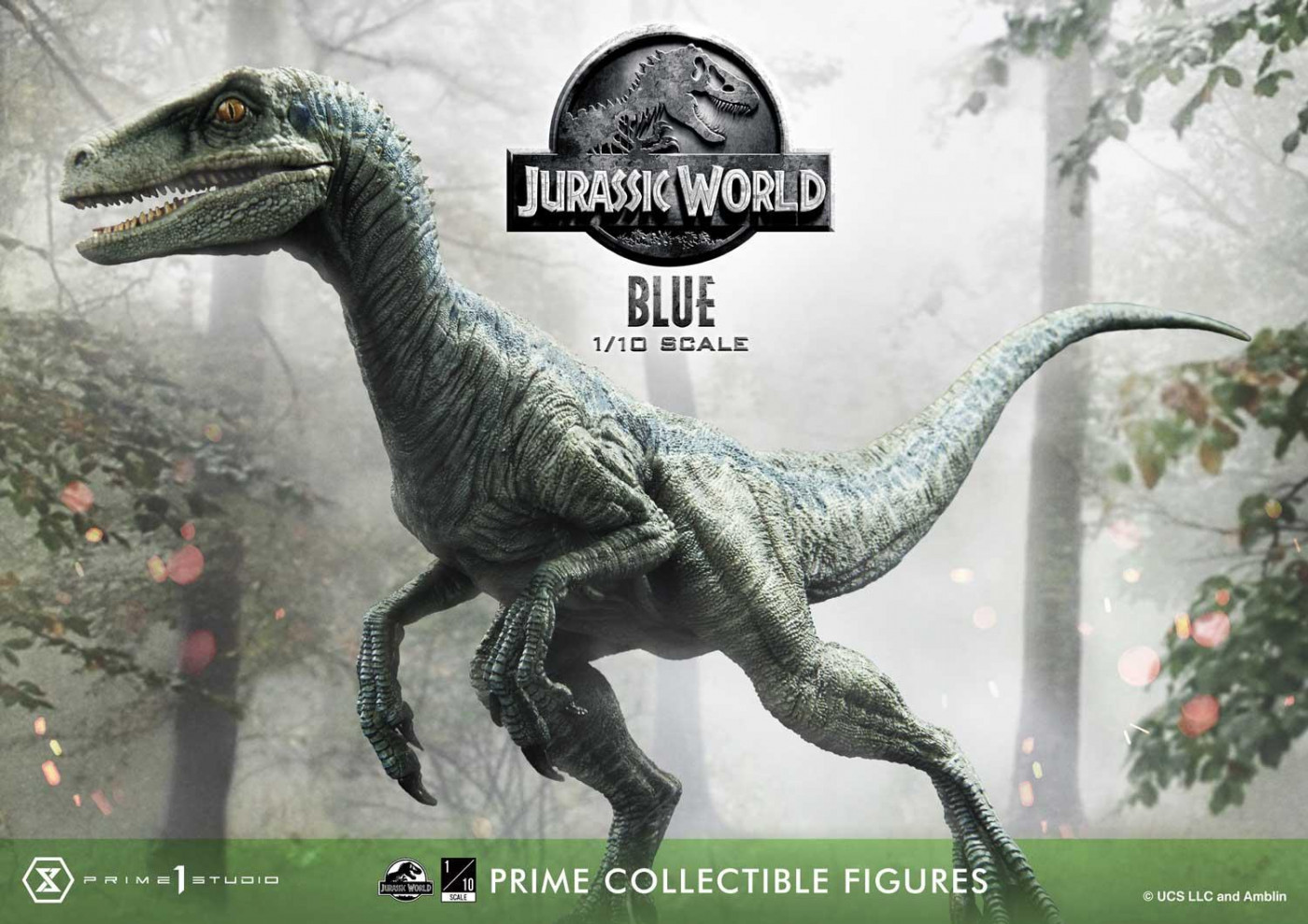Prime Collectible Figures Jurassic World (Film) Blue Open Mouth