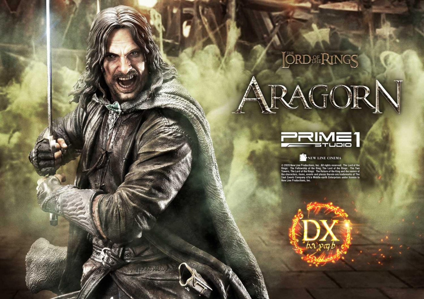 Premium Masterline The Lord of the Rings: The Return of the King (Film) Aragorn Deluxe Version
