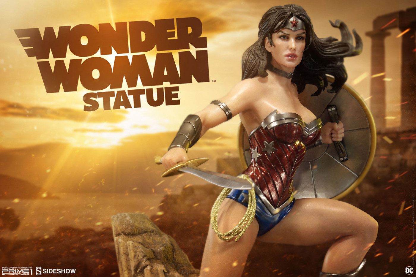 Premium Masterline Justice League: Origin (The New 52!) Wonder Woman