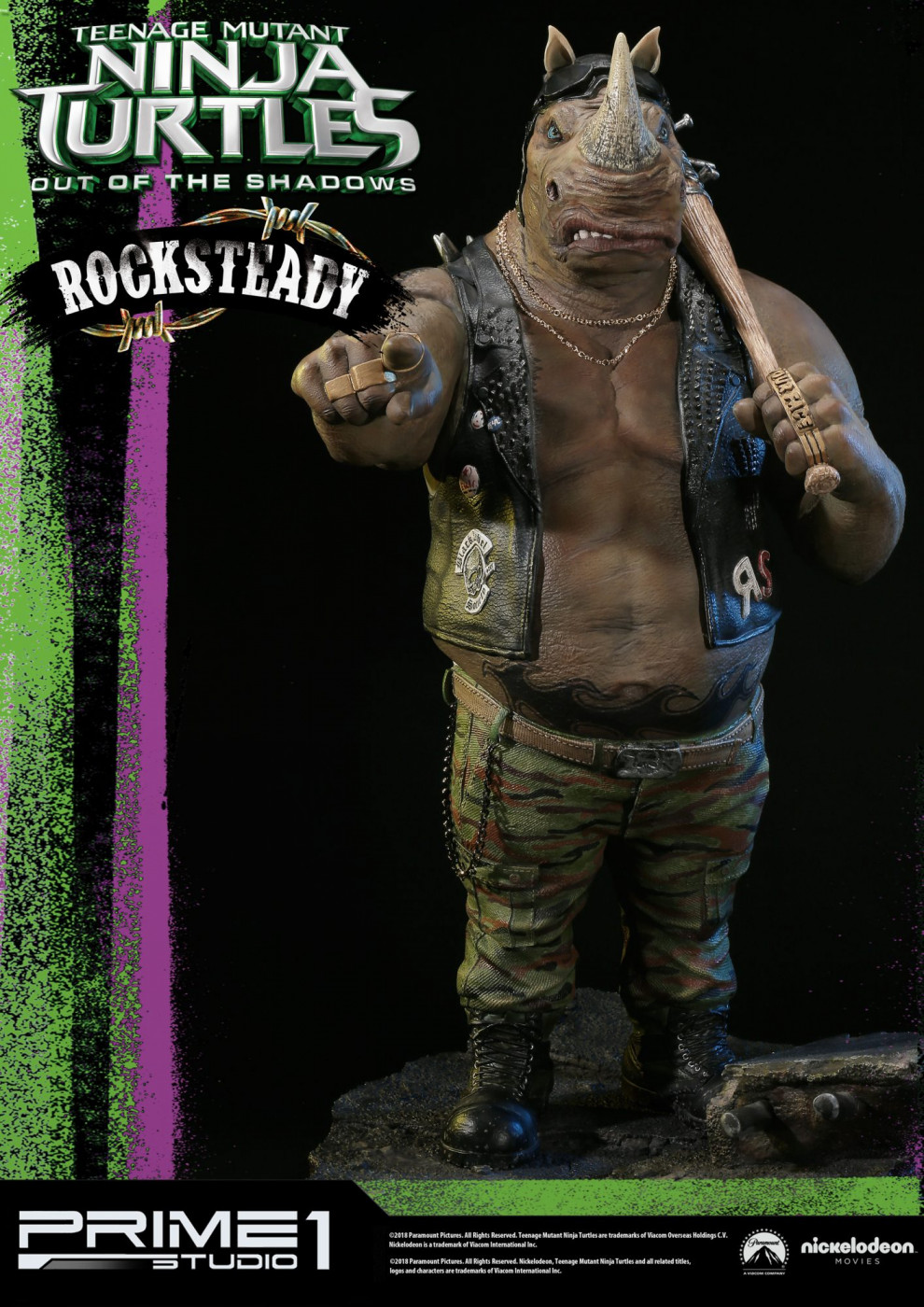Premium Masterline Teenage Mutant Ninja Turtles: Out of the Shadows Rocksteady