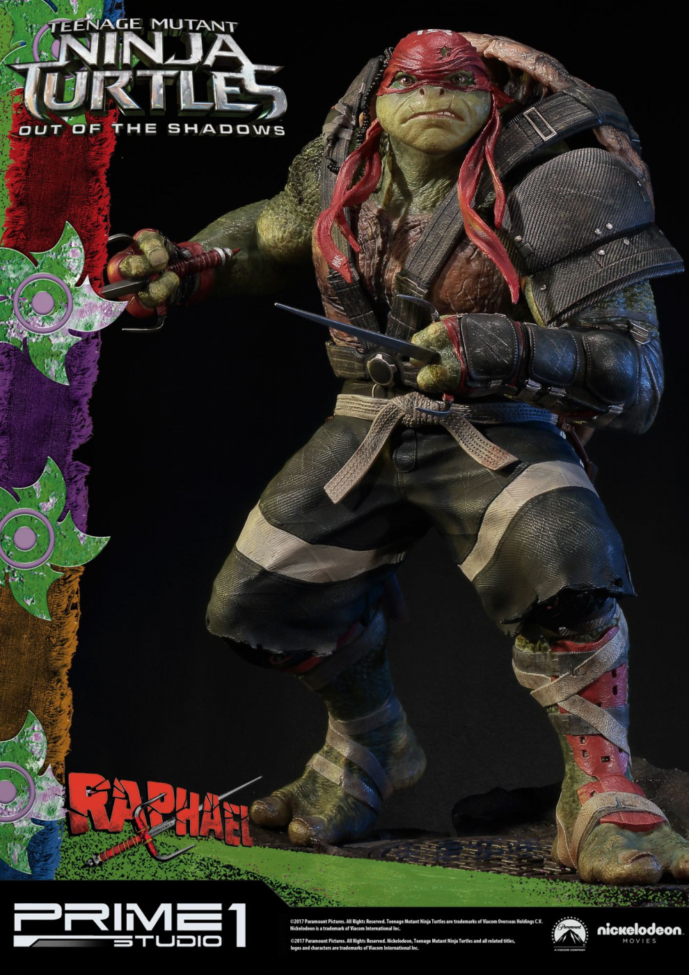Premium Masterline Teenage Mutant Ninja Turtles: Out of the Shadows Raphael