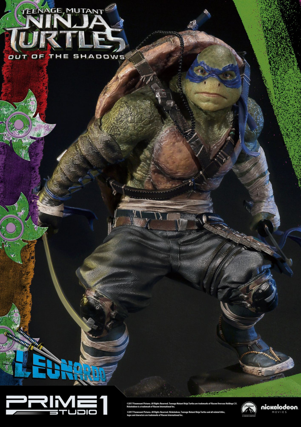 Premium Masterline Teenage Mutant Ninja Turtles: Out of the Shadows Leonardo