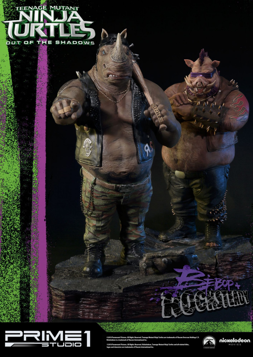 Premium Masterline Teenage Mutant Ninja Turtles: Out of the Shadows Bebop & Rocksteady EX Set