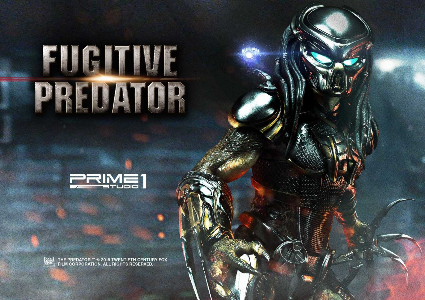 Premium Masterline The Predator (Film) Fugitive Predator