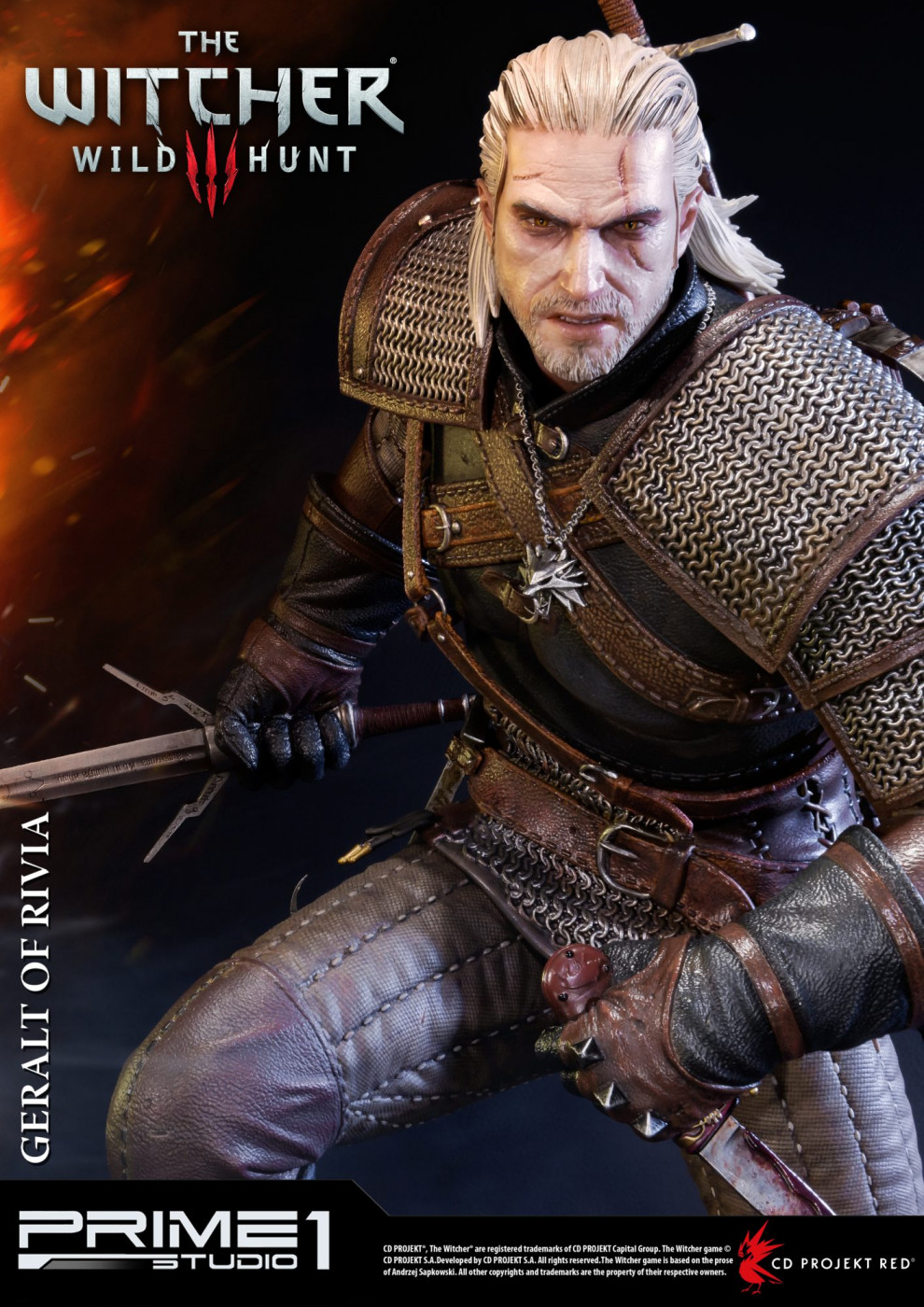 Premium Masterline The Witcher 3: Wild Hunt Geralt EX Version
