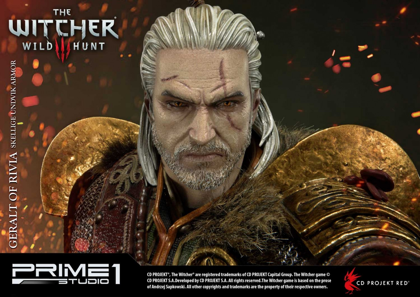 Premium Masterline The Witcher 3: Wild Hunt Geralt of Rivia Skellige Undvik Armor