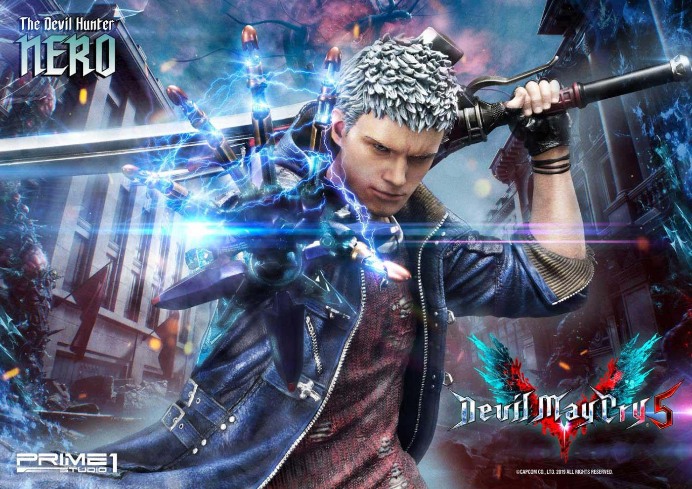 Nero Devil May Cry Art