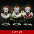 High Definition Bust IT (Film) Pennywise Head Set