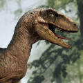 Legacy Museum Collection Jurassic Park (Film) Velociraptor Open mouth 1/6 scale