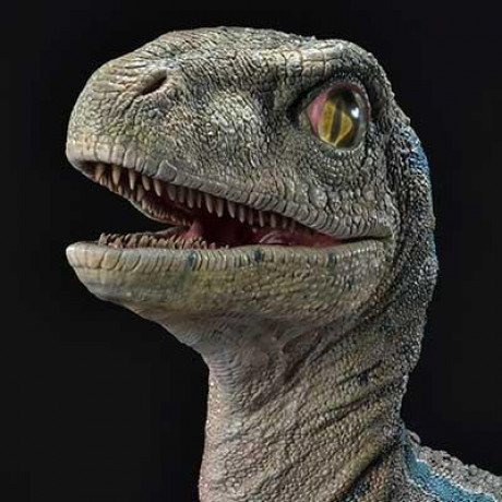 Legacy Museum Collection Jurassic World: Fallen Kingdom (Film) Baby Blue 1/2 scale