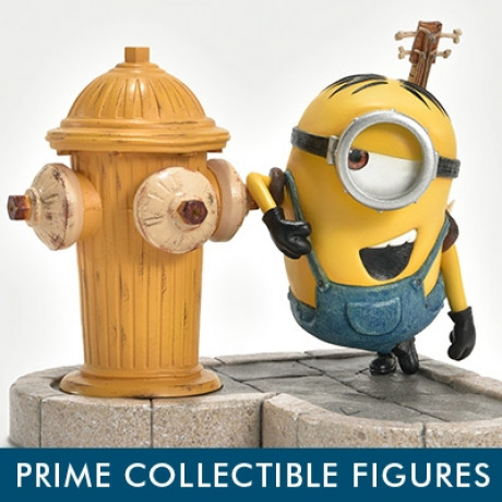 Prime Collectible Figures Despicable Me & Minions Minion Stuart in New York