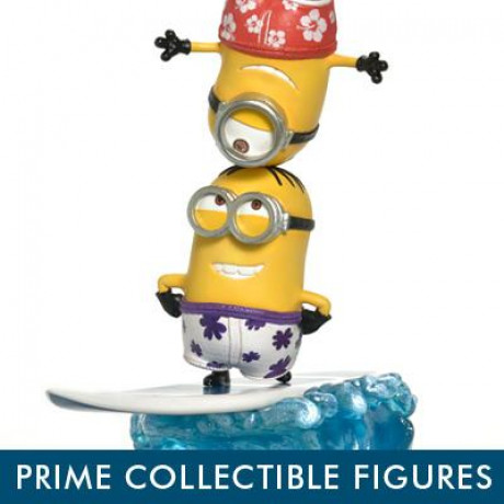 Prime Collectible Figures Despicable Me & Minions Minions on Surfboard