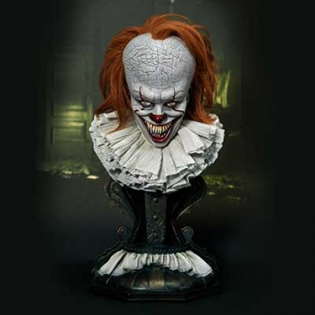 High Definition Bust IT (Film) Pennywise Dominant