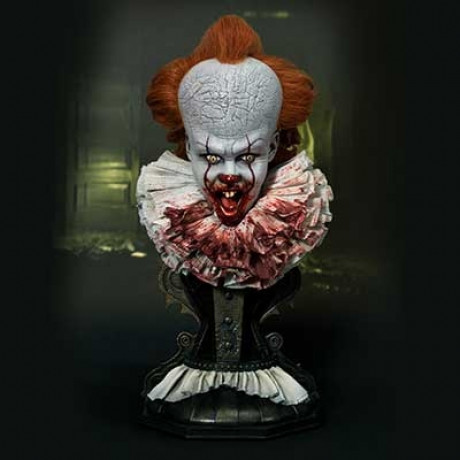 High Definition Bust IT (Film) Pennywise Surprised