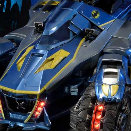 Museum Masterline Batman: Arkham Knight Batmobile  1970's skin Version