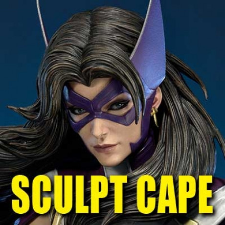 Museum Masterline Batman: Hush (Comics) Huntress Sculpt Cape