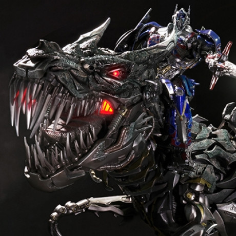 Museum Masterline Transformers: Age of Extinction Grimlock Optimus Prime Edition
