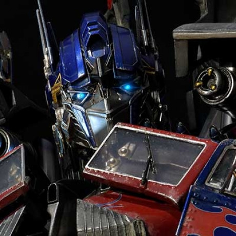 Museum Masterline Transformers: Revenge of the Fallen (Film) Jetpower Optimus Prime