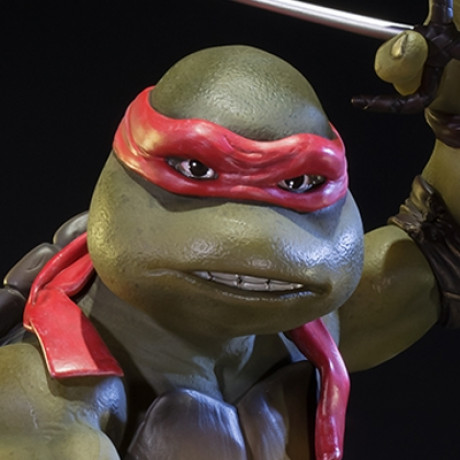 Museum Masterline Teenage Mutant Ninja Turtles 1990 Raphael