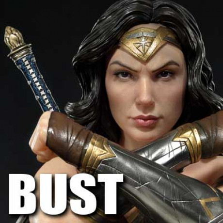 Premium Bust Justice League Wonder Woman