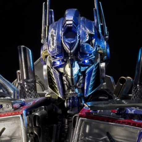 Premium Bust Transformers: Dark of the Moon Optimus Prime Final Battle Edition