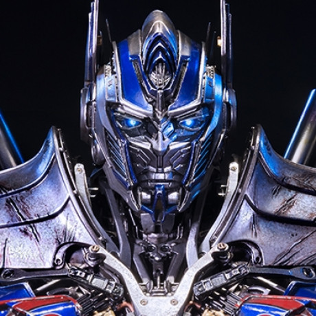 Premium Bust Transformers: Age of Extinction Optimus Prime