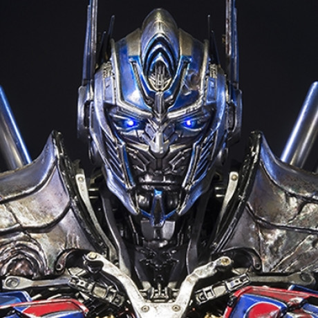 Premium Bust Transformers: Age of Extinction Optimus Prime Damage Version