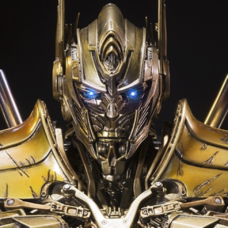 Premium Bust Transformers: Age of Extinction Optimus Prime Gold Version