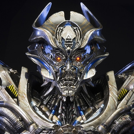 Premium Bust Transformers: Age of Extinction Galvatron Damage Version