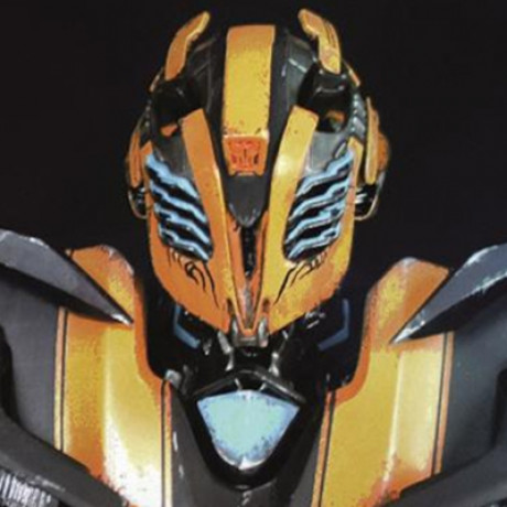 Premium Bust Transformers Stealth Bumblebee