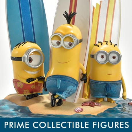 Prime Collectible Figures Despicable Me & Minions Minions on the beach
