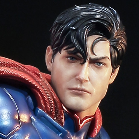 Premium Masterline Justice League: Origin (The New 52!) Superman EX Version