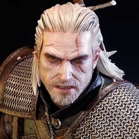 Premium Masterline The Witcher 3: Wild Hunt Geralt of Rivia