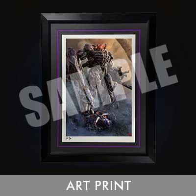 Art Print Transformers: Dark of the Moon (Film) Shockwave