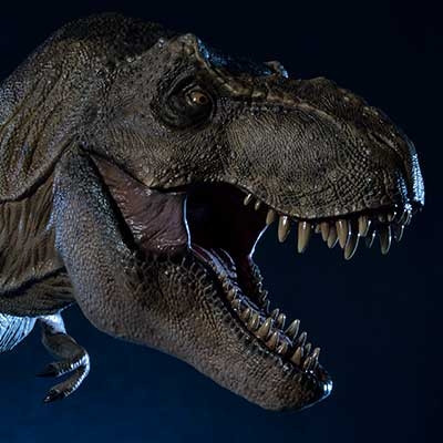 Legacy Museum Collection Jurassic Park (Film) Tyrannosaurus-Rex 1/15 scale