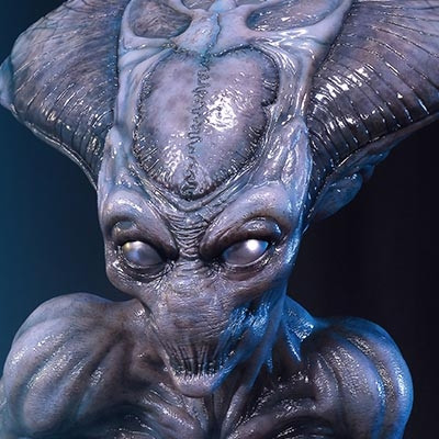 Life Size Bust Independence Day: Resurgence Alien