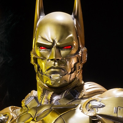 Museum Masterline Batman: Arkham Knight Batman Beyond Gold Version