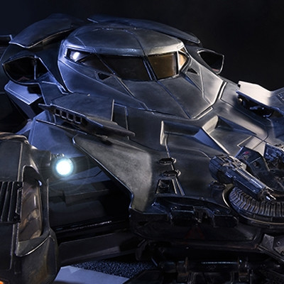 Museum Masterline Batman v Superman: Dawn of Justice Batmobile