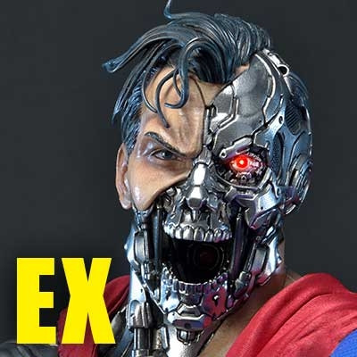 Museum Masterline Superman (Comics) Cyborg Superman EX Version