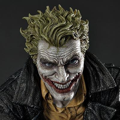 Museum Masterline Batman (Comics) The Joker (Concept Design by Lee Bermejo)