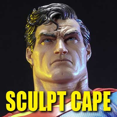 Museum Masterline Batman: Hush (Comics) Superman Sculpt Cape