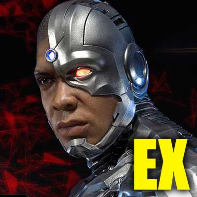Museum Masterline Justice League Cyborg EX Version